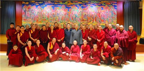 新闻 | 中国藏语系高级佛学院参访团来七塔禅寺参访