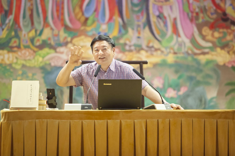 专题讲座10| 谭世宝教授作专题学术讲座:传承与挑战:青年中国之汉字文化财富的返本创新——兼比较中印佛教的历史命运
