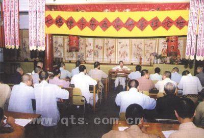 七塔禅寺举办夏季僧众文化培训班