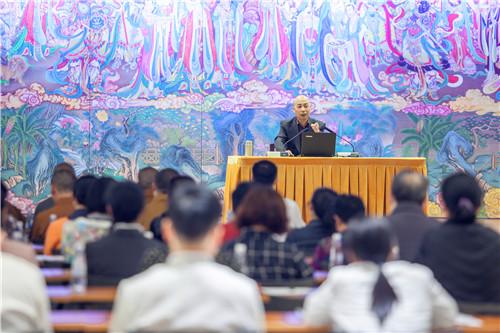 王宝贤老师作专题学术讲座——儒家思想中的仁与孝