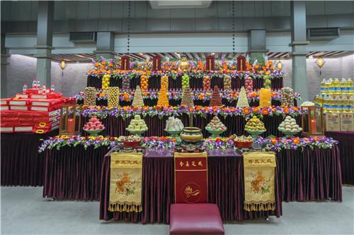 新闻|七塔禅寺举行供佛斋天祈福法会