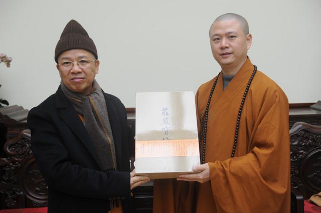 越南佛教教会代表团访问七塔禅寺