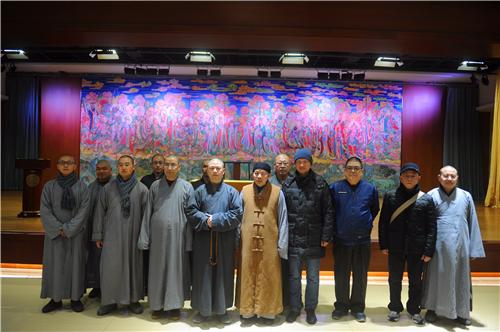 新闻|苏州西园戒幢律寺一行赴七塔禅寺交流互鉴
