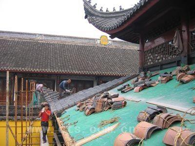 七塔禅寺三圣殿维修工程全面启动