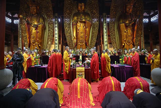 七塔禅寺隆重举行108众大型水陆法会