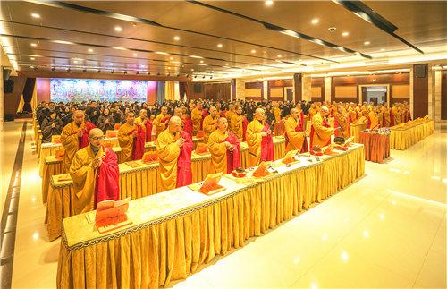 七塔禅寺隆重举行新年元旦供佛斋天祈福法会