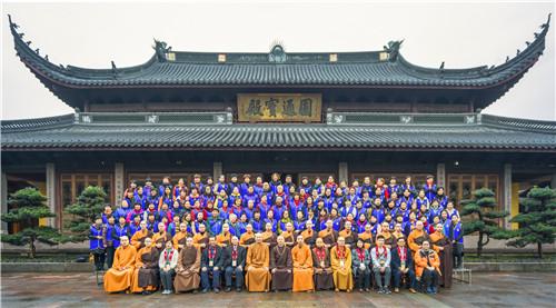 新闻|香港佛教联合会执行副主席宏明法师率团参访七塔禅寺
