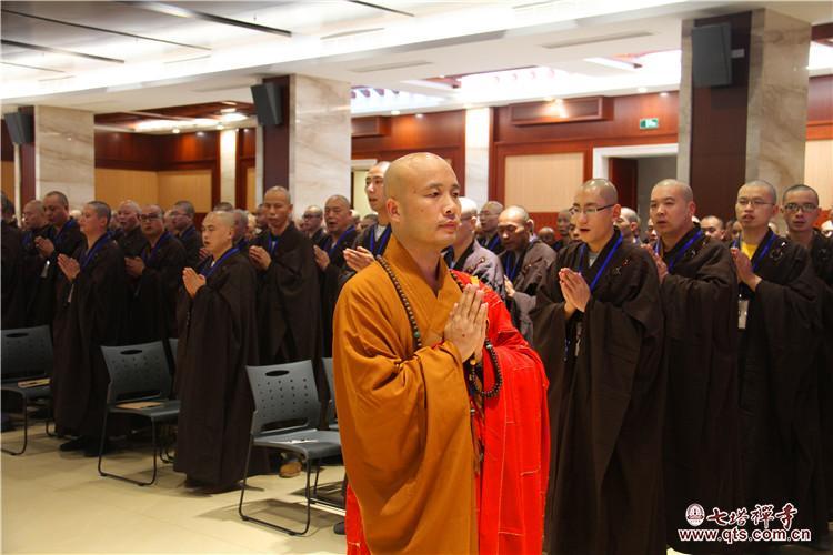 七塔禅寺传授三坛大戒法会礼请达照法师作佛学专题讲座
