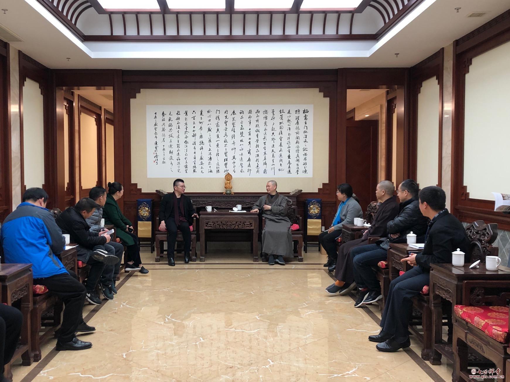 宁波市宗教场所出版物专项检查小组视察栖心图书馆